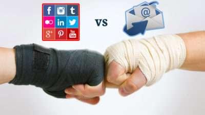 Debería usar más Redes Sociales o Email en mi estrategia de marketing