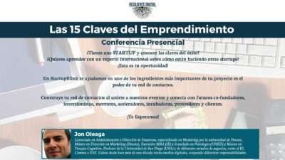 Jon Oleaga - Las 15 claves del emprendimiento