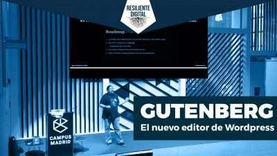 Cómo funciona Gutenberg, el nuevo editor de Wordpress