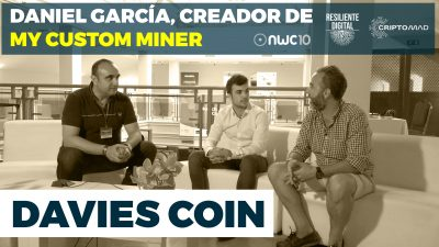 Daniel García creador de Davies Coin