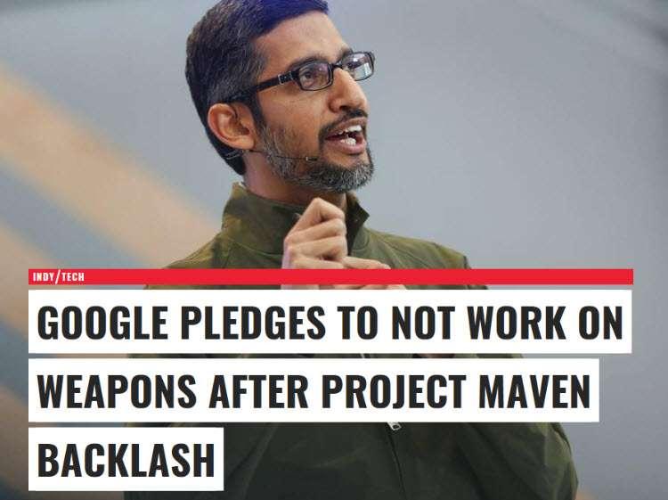 El CEO de Google Sundar Pichai comentó que la compaía tiene profunda responsabilidad para proteger que la inteligencia artifficial no se use de manera indebida
