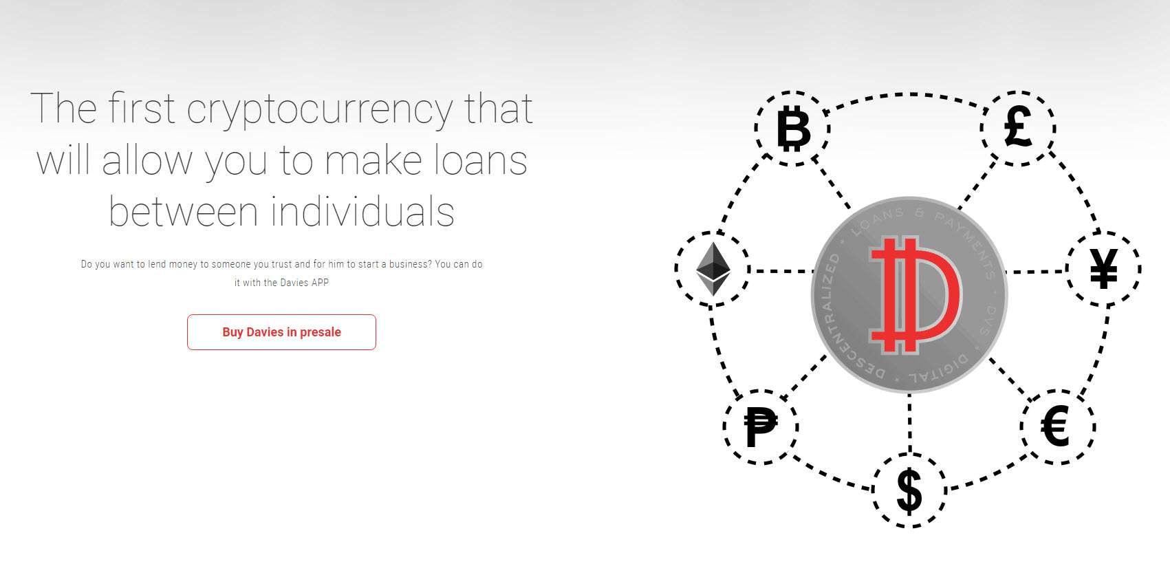 Página de Davies Coin