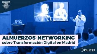 Presentación Almuerzos-Networking sobre Transformación Digital en Madrid
