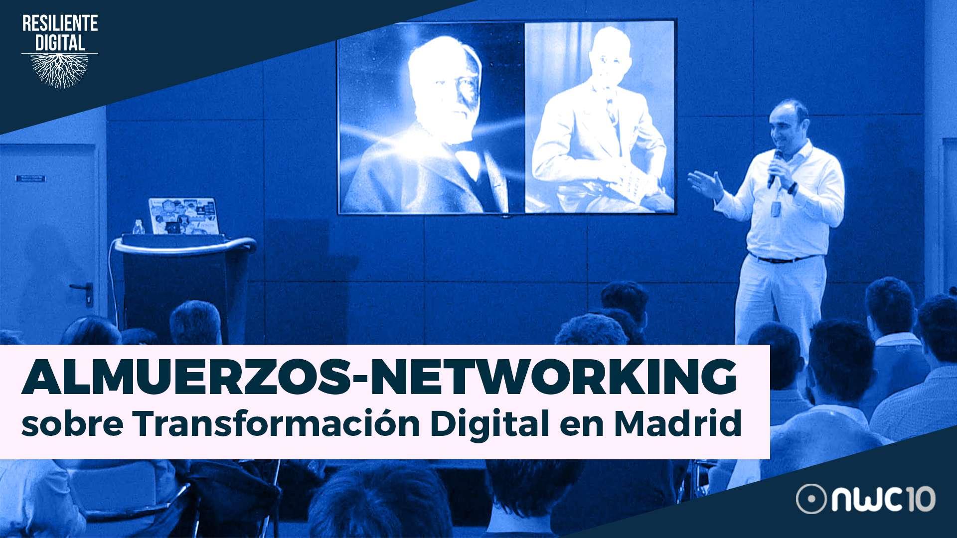 Presentación sobre los Almuerzos – Networking de Transformación Digital en Madrid