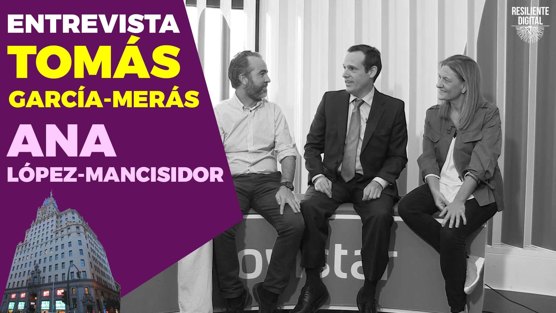 Entrevista sobre Desarrollo de aplicaciones empresariales en Blockchain con Tomás García-Merás y Ana Lopez-Mancisidor