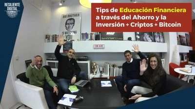 Tips de educación financiera a través del ahorro y la inversión
