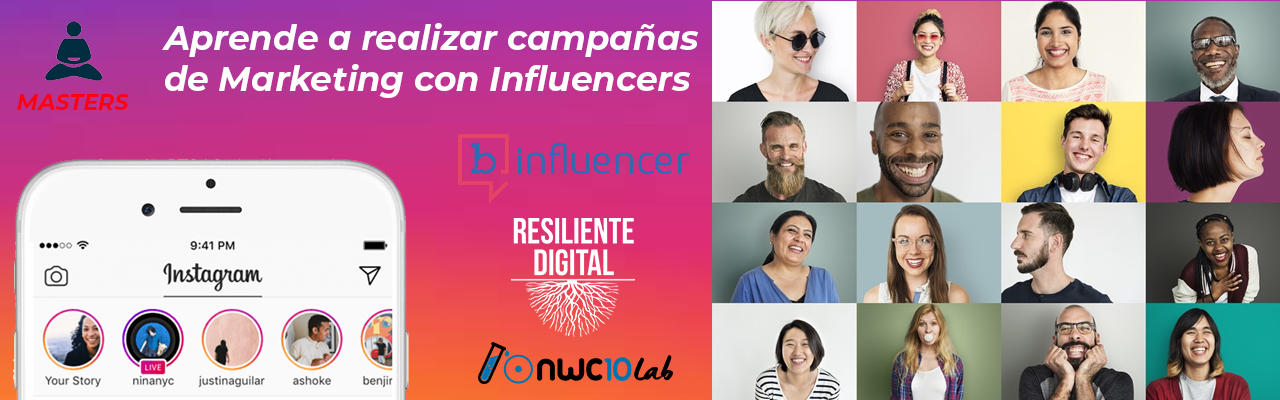 Aprende a realizar campañas de Marketing con Influencers