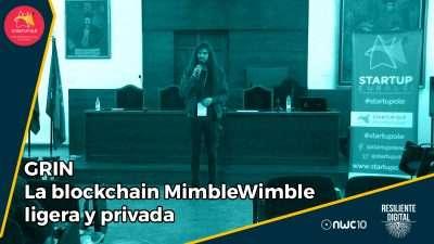 GRIN - La blockchain MimbleWimble ligera y privada