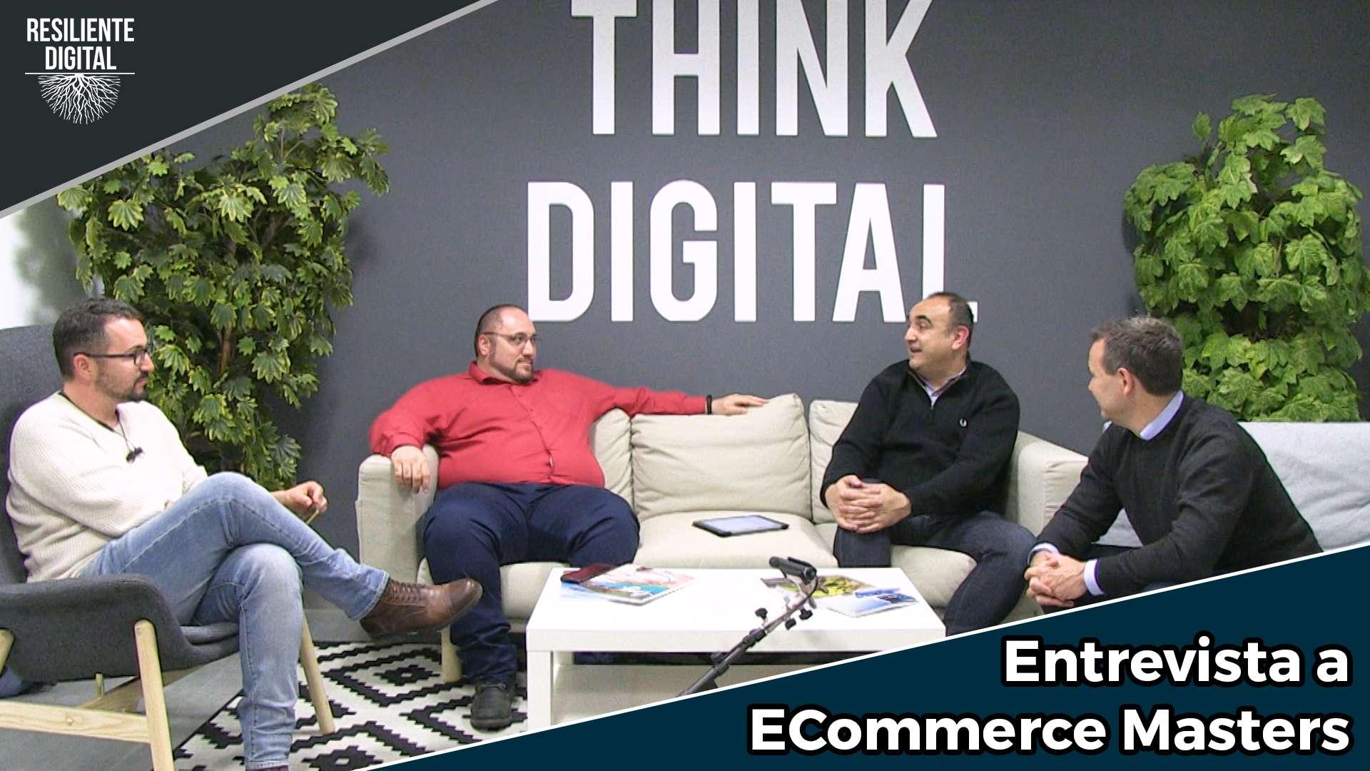 Entrevista sobre comercio electrónico a Fares Kameli, José Carlos Cortizo y Jorge Gonzalez