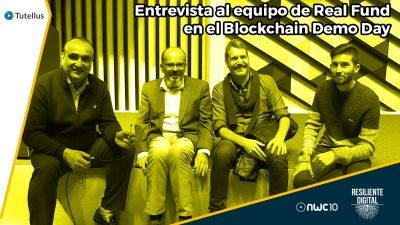 Entrevista al equipo de Real Fund en el Blockchain Demo Day