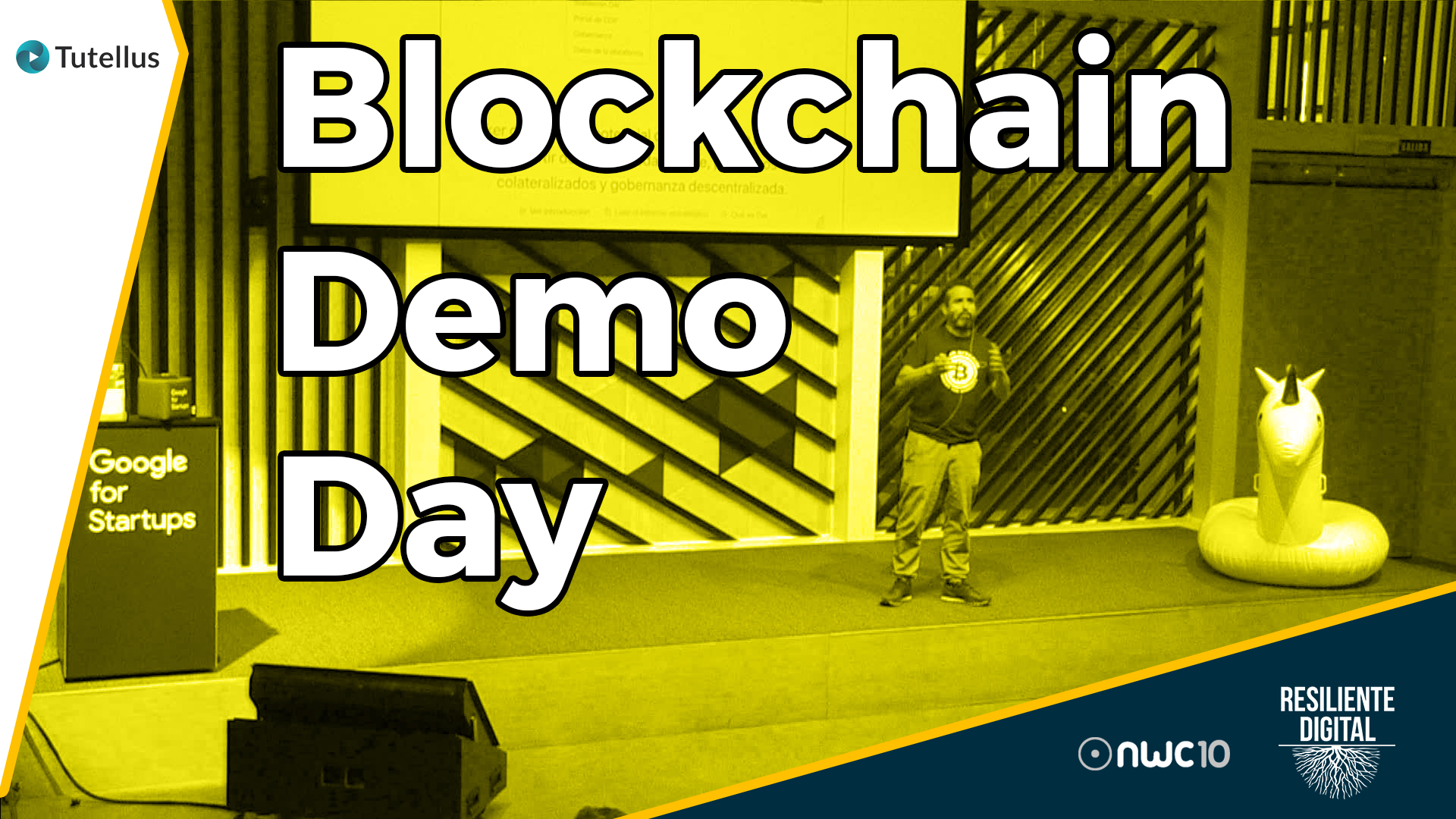 Blockchain Demo Day con Tutellus