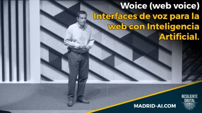 Woice (web voice). Interfaces de voz para la web con Inteligencia Artificial.