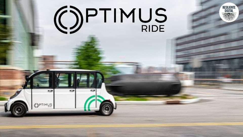 Optimus Ride lanza el primer servicio de transporte autónomo en el mundo