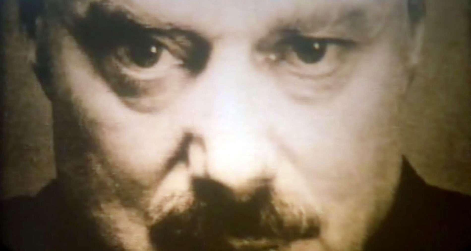 El Gran Hermano caracterizado en la película 1984, basada en la novela de George Orwell