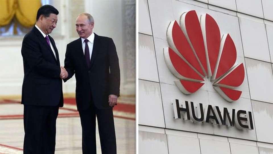 Huawei firma acuerdo con Putin para desarrollar 5G en Rusia