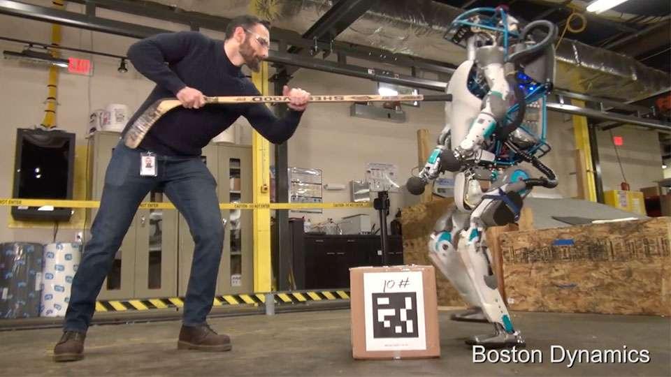 Entrenamiento de Robots en Boston Dynamics, ahora empresa de SoftBank