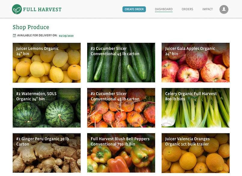 Full Harvest está desarrollando formas innovadoras de aprovechar este desperdicio del campo