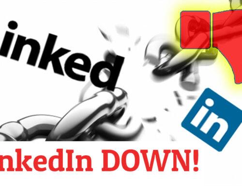 LinkedIn DOWN – ¡Linkedin Caído!