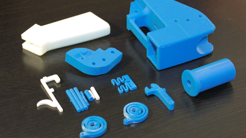 Piezas 3D de impresión casera para el arma liberator