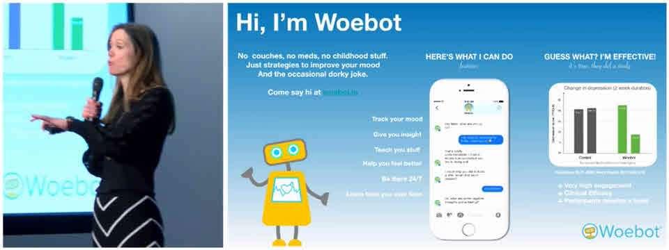 Darzy con WoeBot