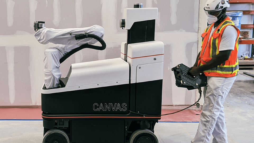Canvas, una de las empresas pioneras en el uso de robots para construcciones