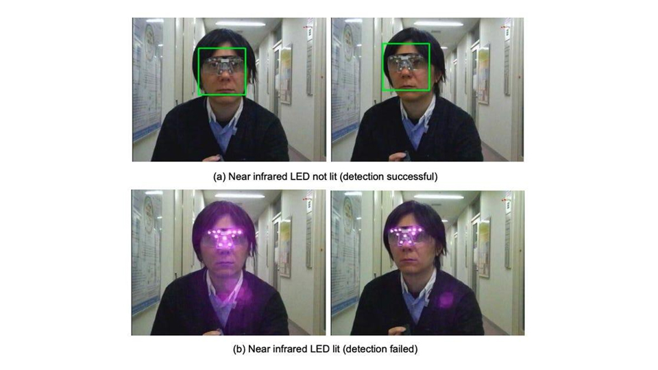 Gafas de LEDs infrarrojos