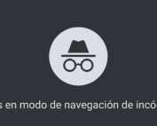El modo incógnito del navegador Chrome no es privado